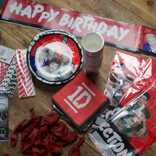Arlo's One Direction birthday party