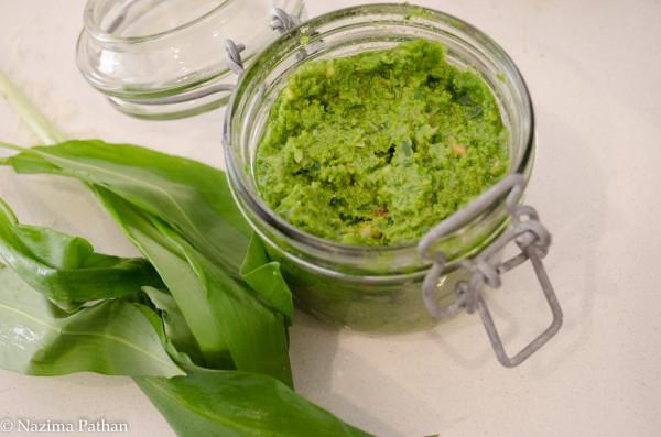 Wild Garlic Pesto by Franglais Kitchen