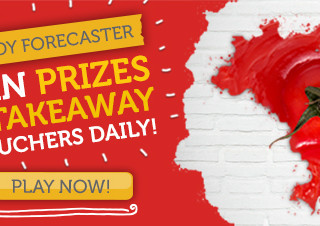 Win Takeaways for a Year with JUST EAT Foody Forecaster