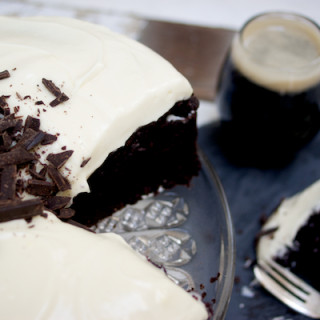 Chocolate Guinness Cake on feeding boys.co.uk
