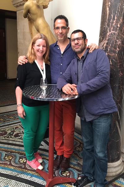 Katie Bryson meets Yotam Ottolenghi and Sami Tamimi at FBC14