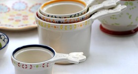 Win a set of these Moorish pottery measuring cups worth £18.95 on feedingboys.co.uk