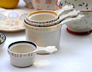 Win a set of these Moorish pottery measuring cups worth £18.95 on feedingboys.co.uk
