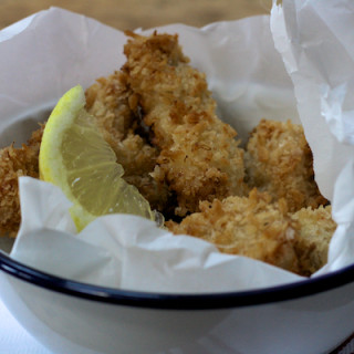Crispy Lemon Chicken Goujons on Feedingboys.co.uk