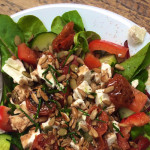 Feta and Sunblush Tomato Salad on feedingboys.co.uk