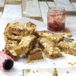 Strawberry Oat Bars by Katie Bryson