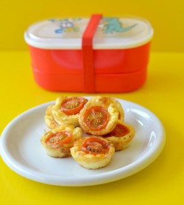 The Crazy Kitchen: Cheese and Tomato Muffins