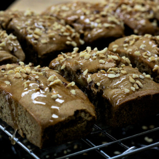 Cider Punch Drizzle Loaf Cakes