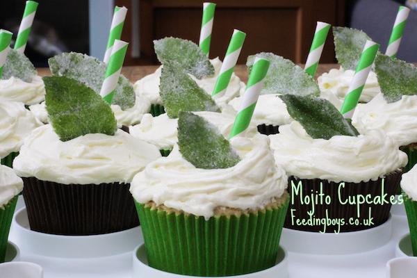Feeding Boys: Mojito Cupcakes
