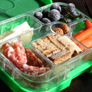 How do you keep kids' lunch boxes interesting?