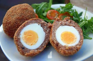 Vegetarian Jerk Spiced Scotch Egg - Allotment 2 Kitchen