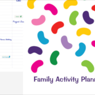 Win a personalised Family Activity Planner from Stuck on You via feedingboys.co.uk