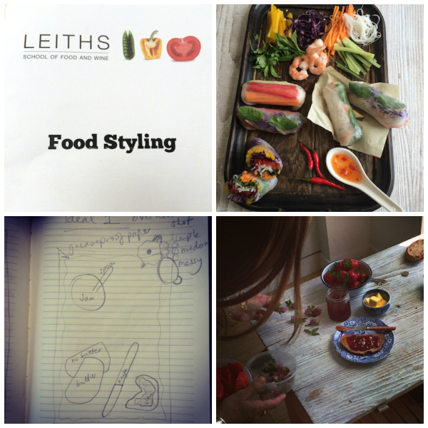 Katie Bryson's review of Leith's Food Styling Course on Feedingboys.co.uk