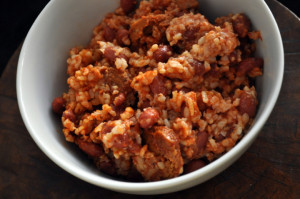 Quick and easy cajun red beans and rice - The Taste Space
