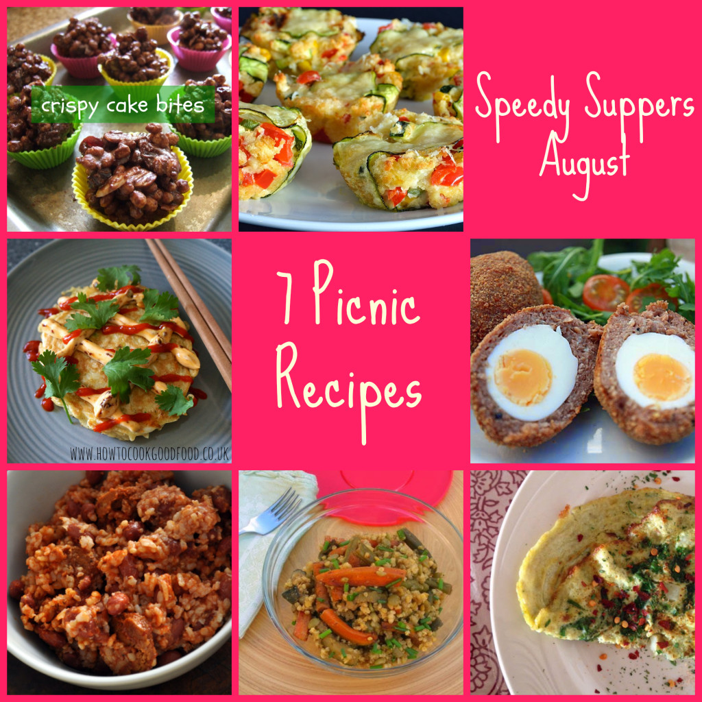Speedy Suppers for August - Picnic Recipes