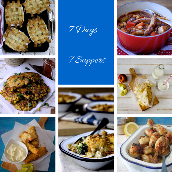 7 Days, 7 Suppers by Katie Bryson on Parentdish.co.uk