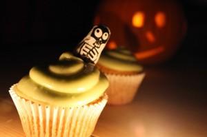 Pumpkin Cupcakes from Veggie Desserts