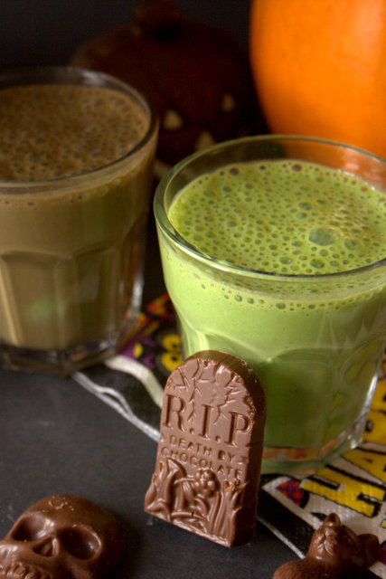 Toxic-Swamp-Halloween-Smoothie by Fuss Free Flavours