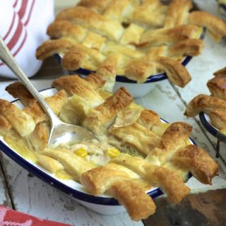 Chicken, Sweetcorn and Broccoli Pot Pies for Parentdish.co.uk on Feeding Boys