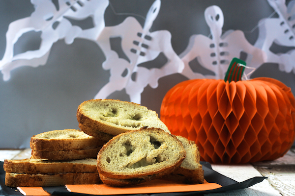 Spooky Grilled Cheese Sandwiches by Katie Bryson for Parentdish.co.uk