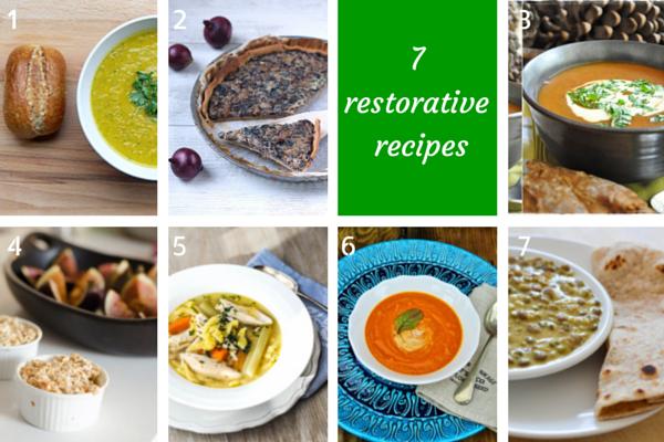 7 restorative recipes on feedingboys.co.uk