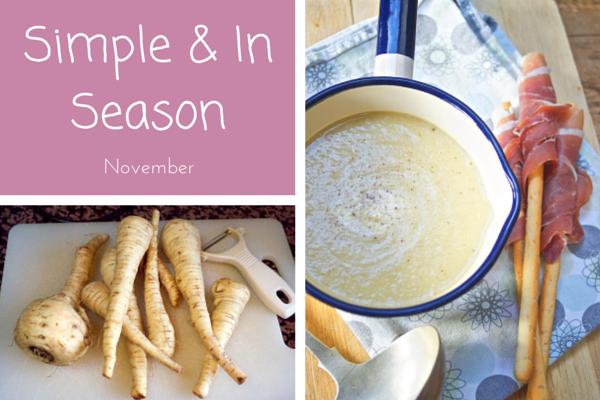 Simple and In Season November on feedingboys.co.uk