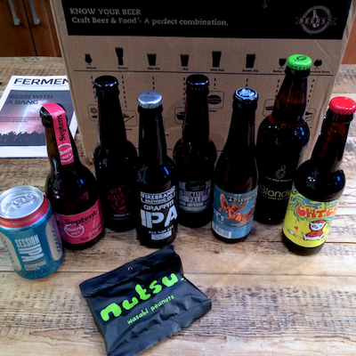 Review of Beer52 craft beer subscription service on feedingboys.co.uk