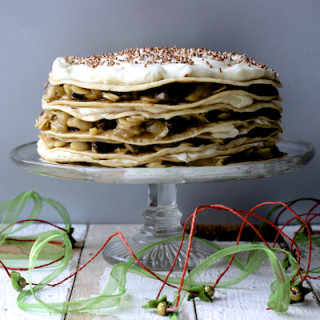 Spiced Christmas Crepe Cake