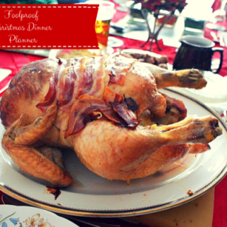 Christmas Dinner Planner by Katie Bryson