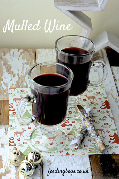 Mulled Wine in the REDMOND multicooker on feedingboys.co.uk