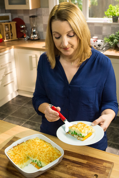 Katie Bryson in Birdseye's Mix Up Your Menu commercial