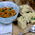 Paneer Curry with Khaman Dhokla on feedingboys.co.uk