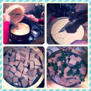 Making the Dhokla part 2