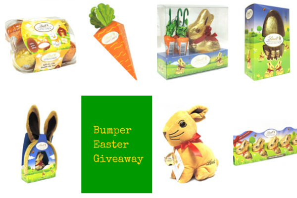 Easter Giveaway of Lindt Bundle on Feedingboys.co.uk
