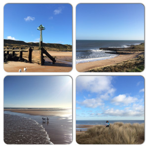 Northumberland beach views by Katie Bryson