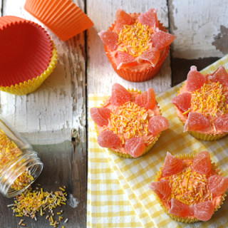 Sunshine Cupcakes on by Katie Bryson on Feeding Boys