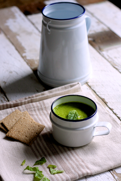 Light Courgette and Leek Soup on Feedingboys.co.uk