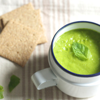 Light Courgette and Leek Soup on Feedingboys.co.uk