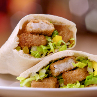 Wholegrain Fish Finger Pitta Pocket