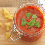 Quick Tomato and Roasted Pepper Sauce by Katie Bryson on feedingboys.co.uk