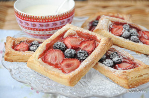 Easy Summer Fruit Tartlets by Ren Behan