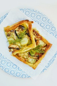 brie and potato tart from Tinned Tomatoes