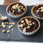 Chocolate Hazelnut Crumble Tarts for Father's Day by Katie Bryson for Channel 4