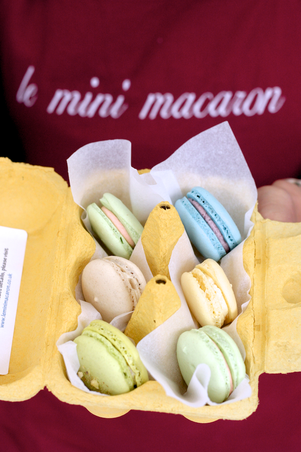 Le Mini Macaron Whitley Baby Proper Food Festival