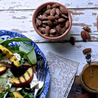 Griddled Peach and Feta Salad by Katie Bryson on feedingboys.co.uk