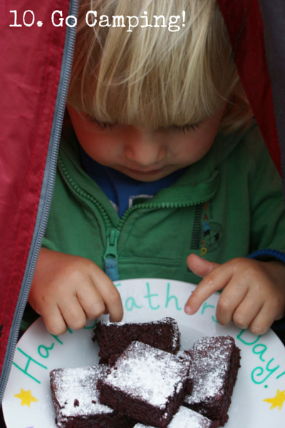 10: Go Camping! Top 10 Tips for Feeding Toddlers on feedingboys.co.uk