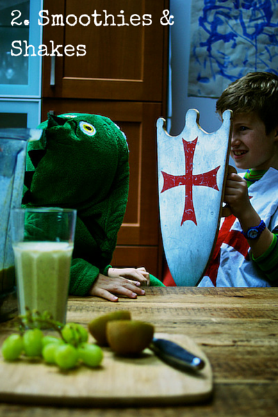 2. Smoothies & Shakes - Top 10 Tips for Feeding Toddlers on Feedingboys.co.uk
