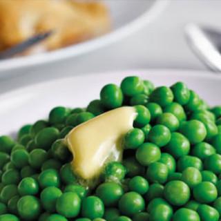 A handful of frozen peas…