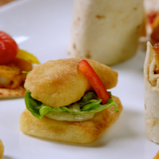 Kids Party Food: Chicken Dipper Canapes