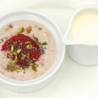 Bircher Muesli made with Organic Mornflake Oats